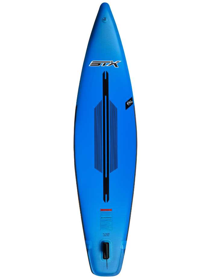 "STX Tourer 11'6 x 32"" x 6"" Blau Back View"