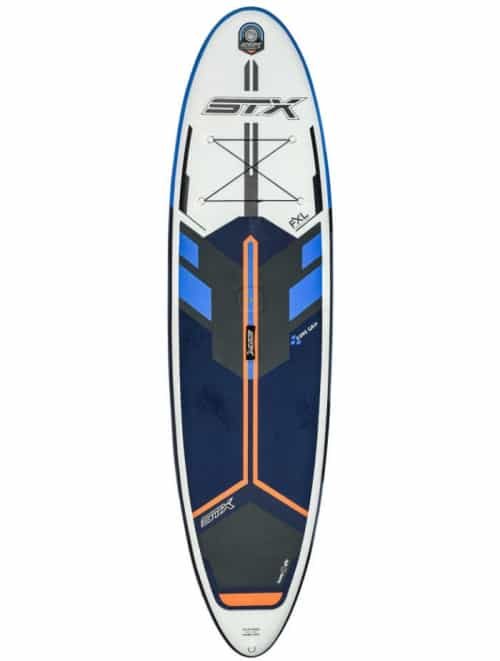 "STX 2020 Freeride 10'6 x 32"" FXL Fusion Double Layer Blau/ Orange"