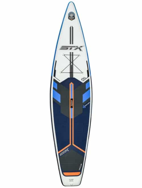 "STX 2020 Tourer 11'6 x 32"" FXL Double Layer Fusion Blau/Orange"