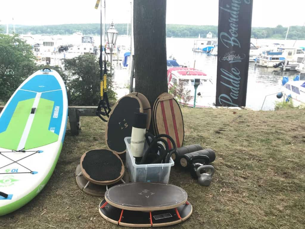 Zirkeltraining Sup Kombination