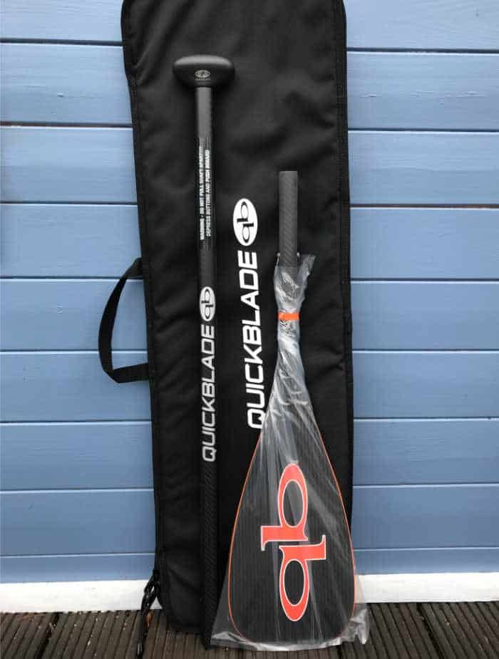Quickblade V-Drive 91 Travel Adjustable Carbon Paddel