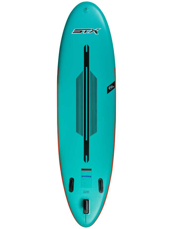 "STX Freeride 10'6 x 32"" x 6"" Mint Back View"
