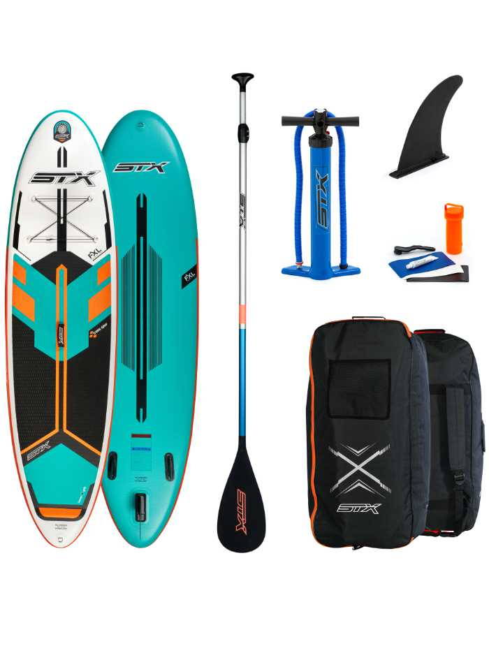 """STX Freeride 10'6 x 32"""" x 6"""" Mint Package Content"""