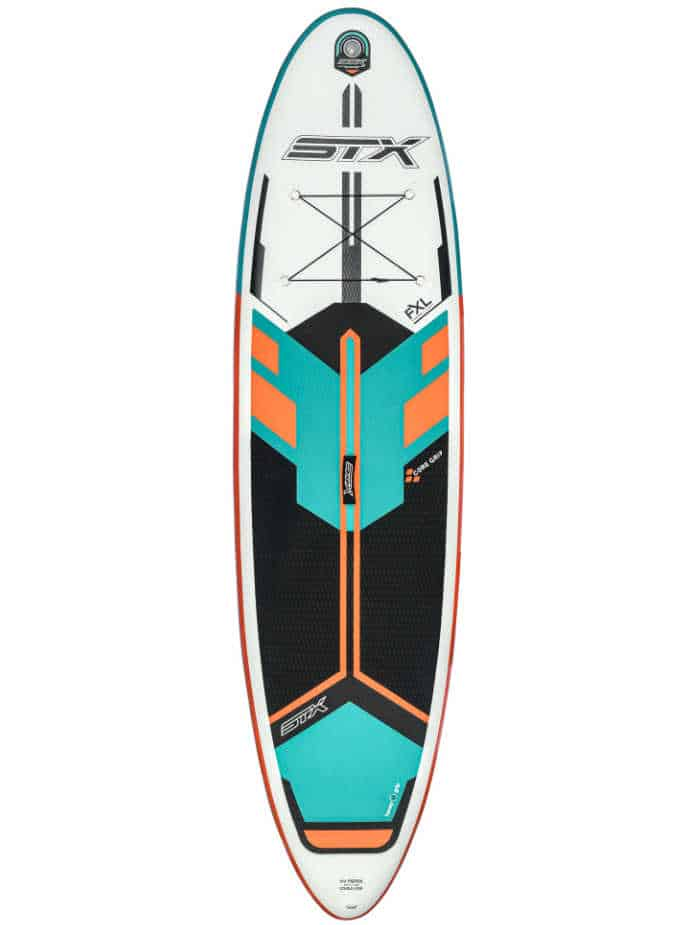 "STX 2020 Freeride 10'6 x 32"" FXL Double Layer Fusion Mint/ Orange"