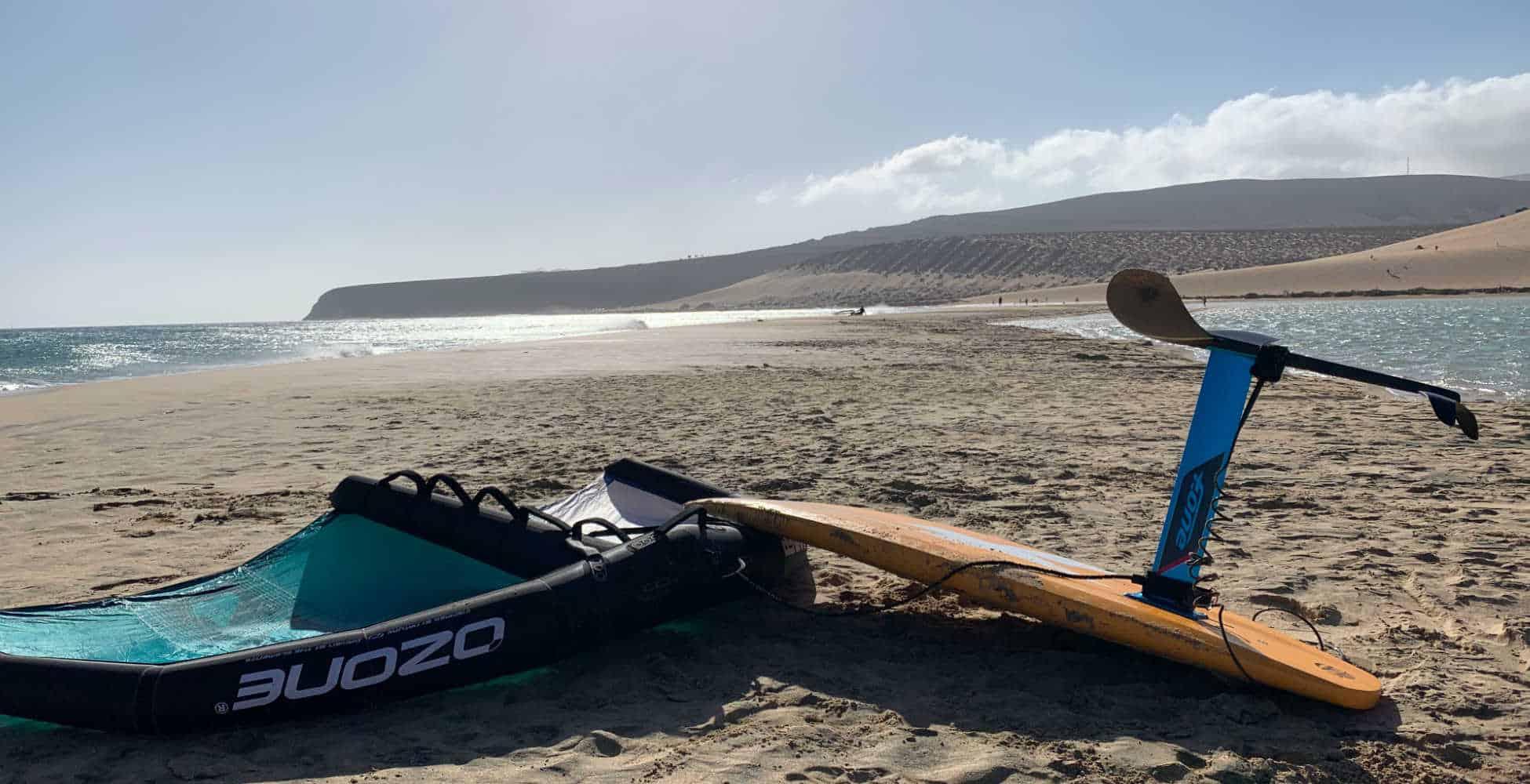 Wingsurfing Risco Del Paso