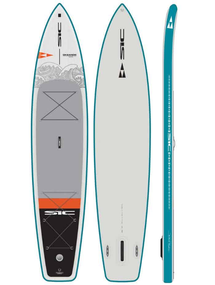"""SIC Maui Okeanos Air Glide 12'6 x 31"""" Fusion Skin Technology"""