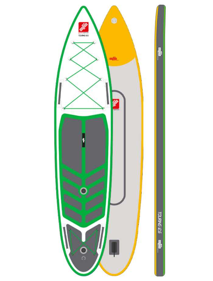 GTS Touring 12'6 DCT Green/ White