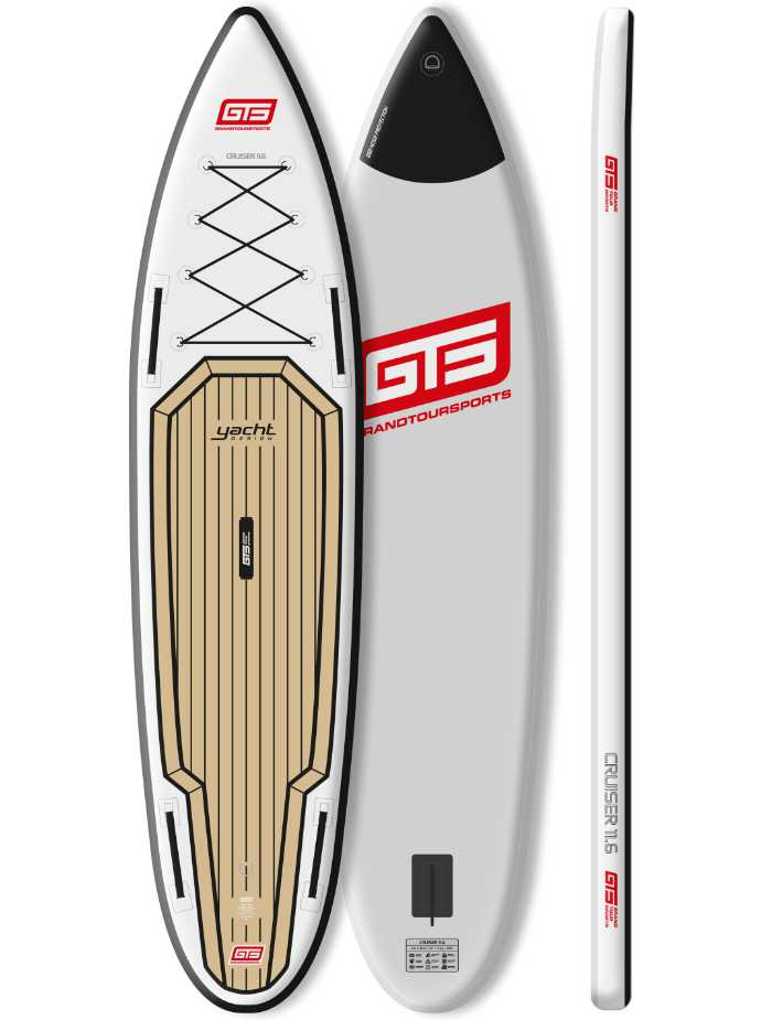 GTS Cruiser 11'6 Yacht Design; Inflatable Sup Board